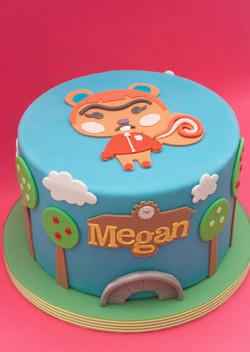 Animal Crossing cake