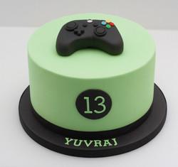 xbox control cake