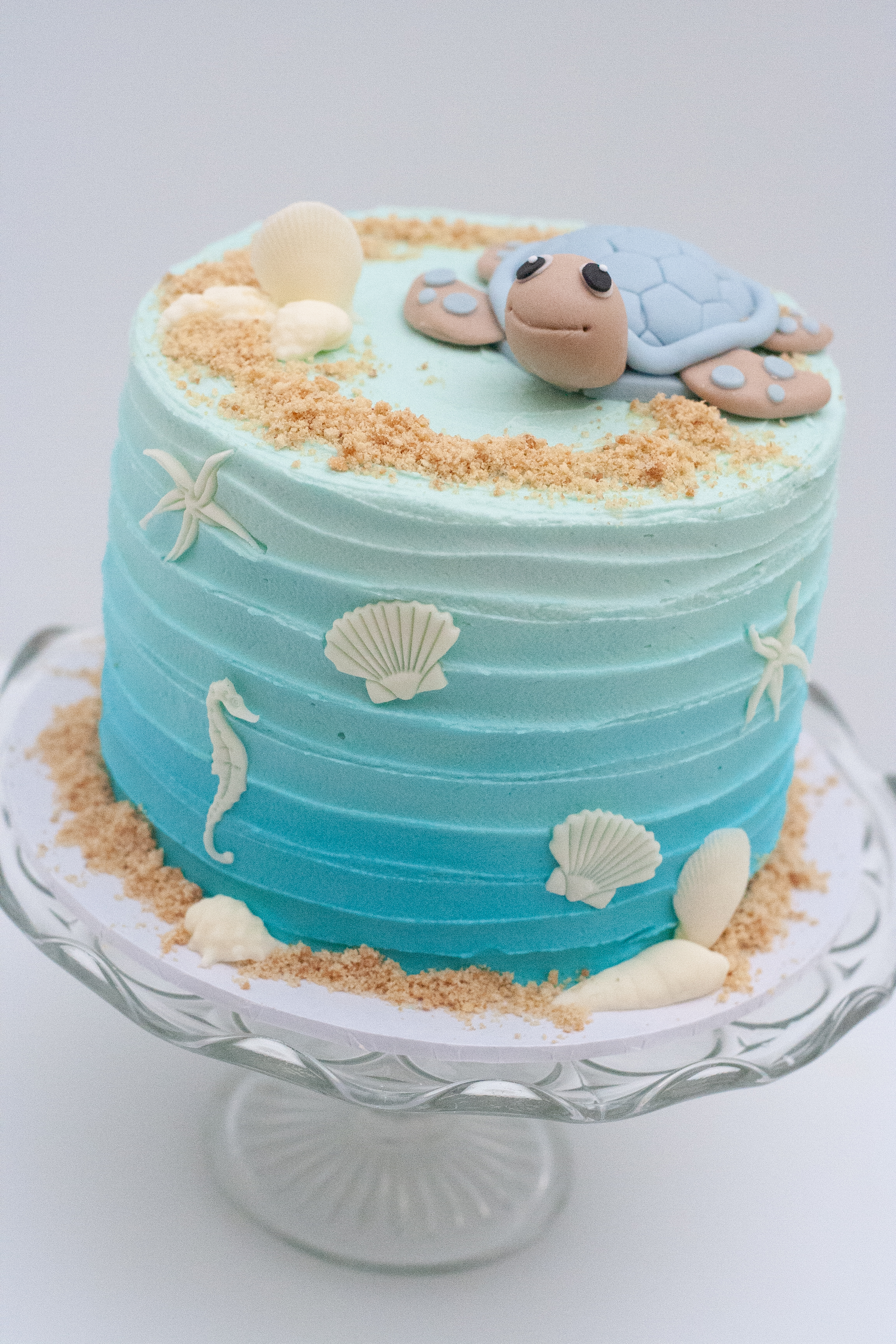 turtle beach cake
