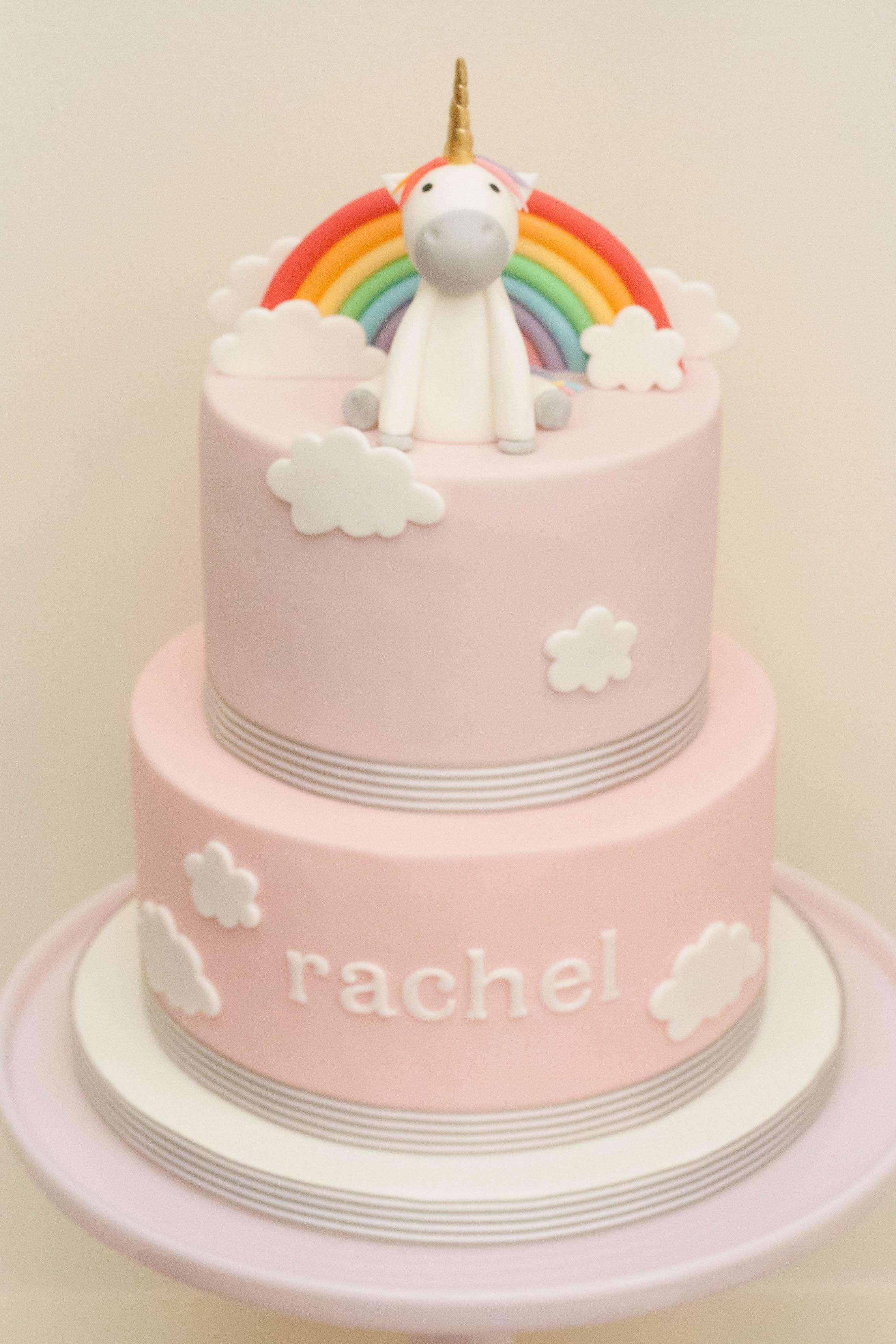 unicorn pink two tier vegan