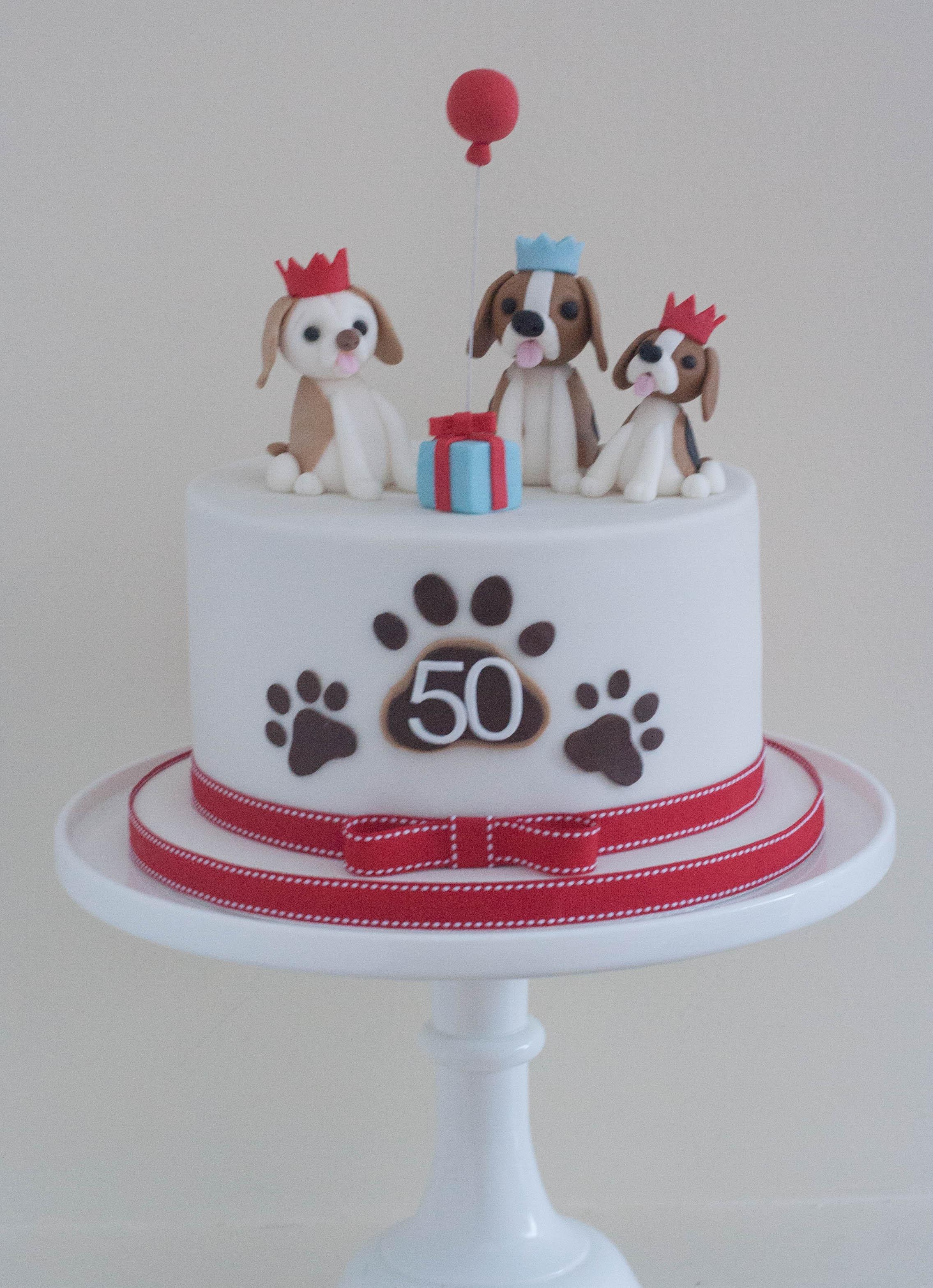 sugar beagles vegan cake