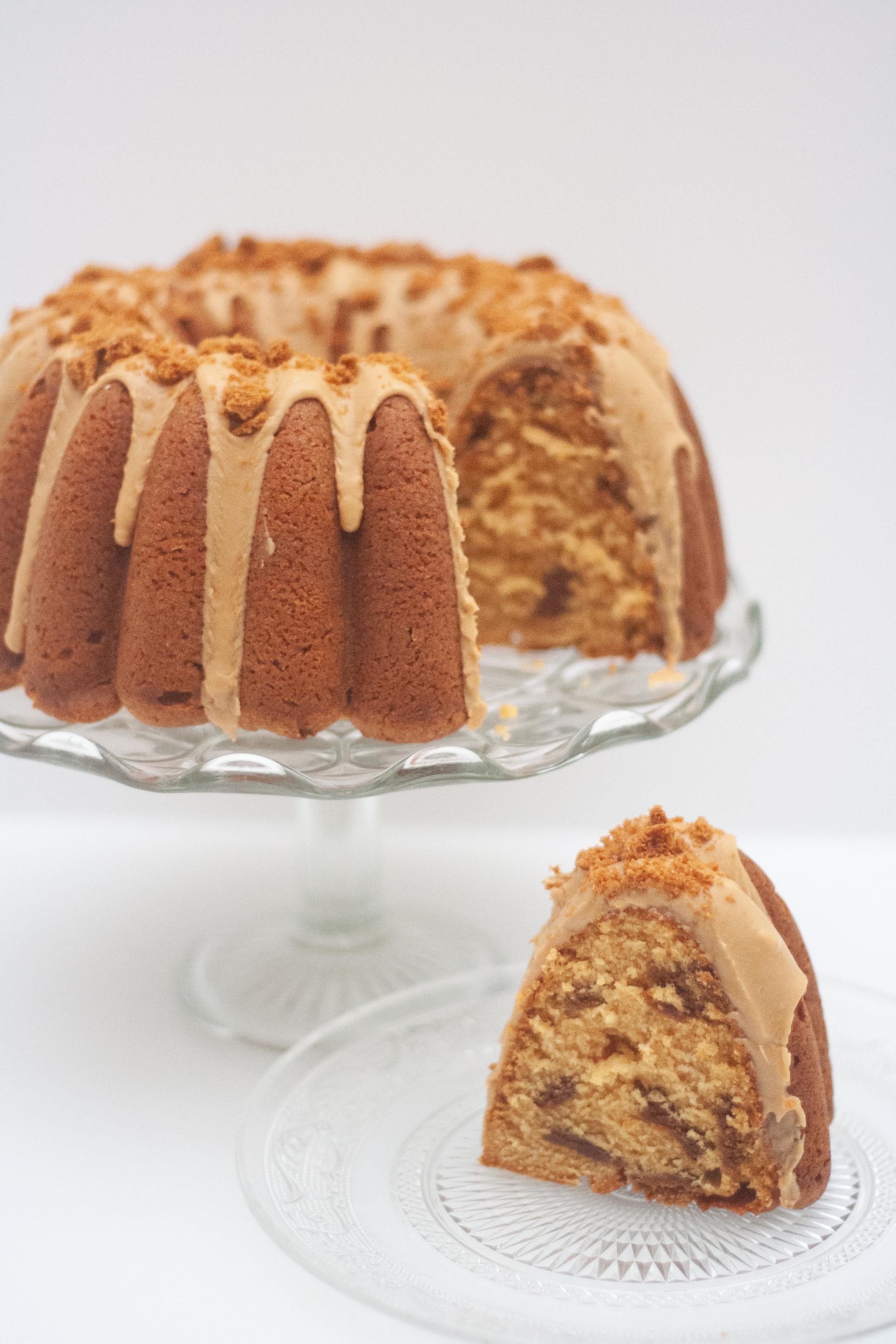 Biscoff bundt cake