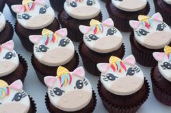 unicorn cupcakes vegan