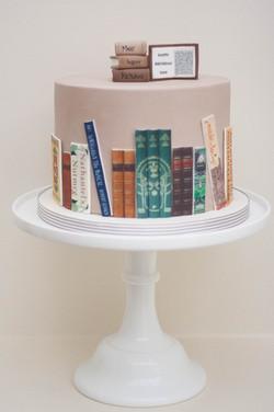 chocolate orange book cake vegan
