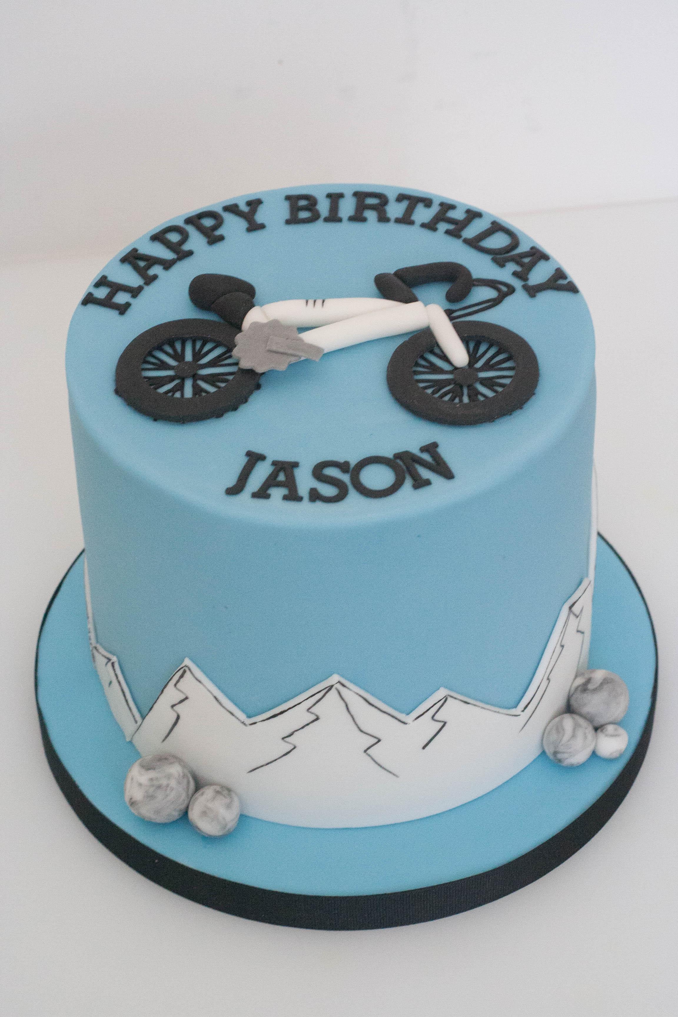 bike cake vegan