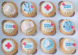 NHS cupcakes vegan