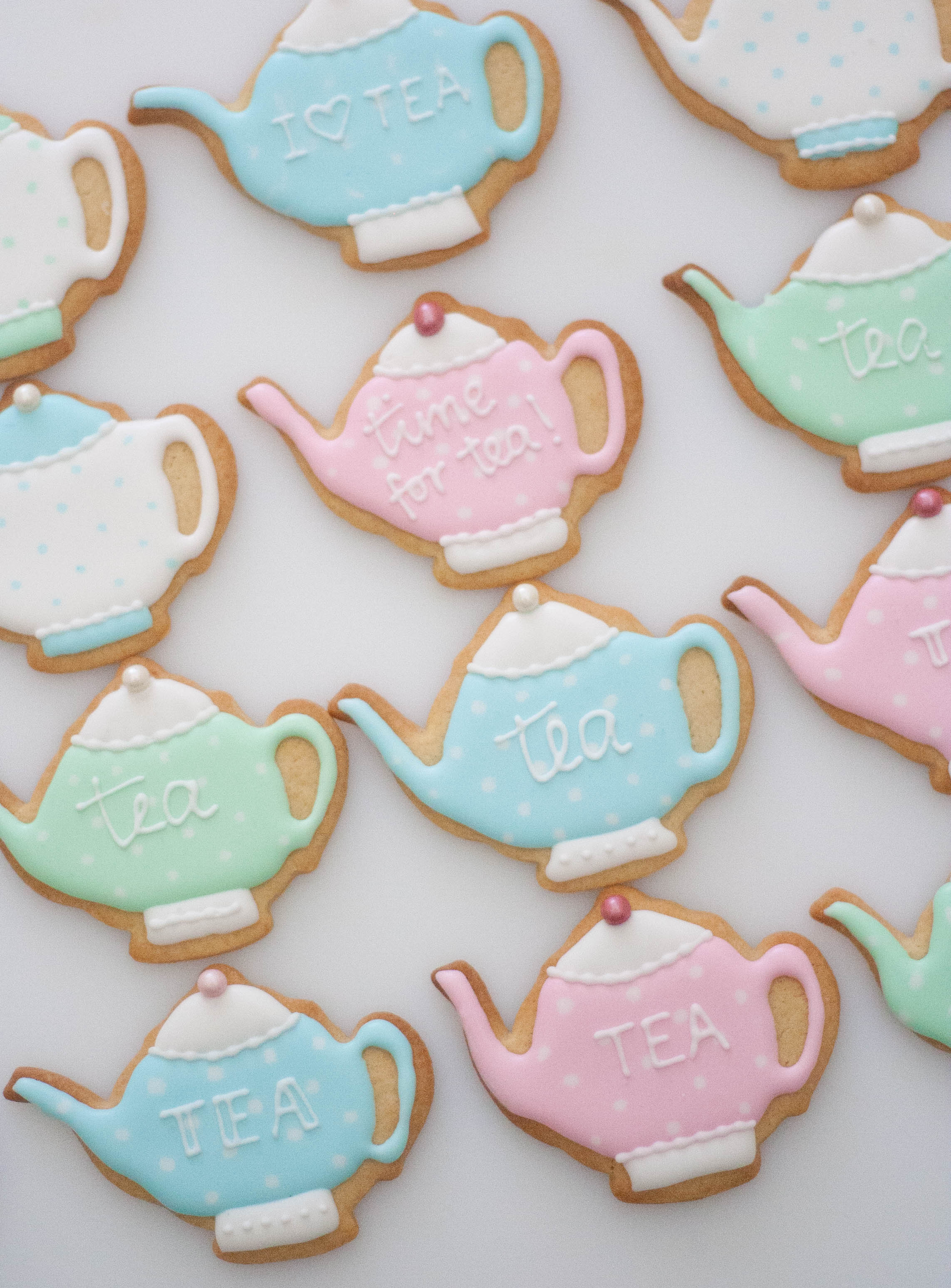 teapot cookies vegan