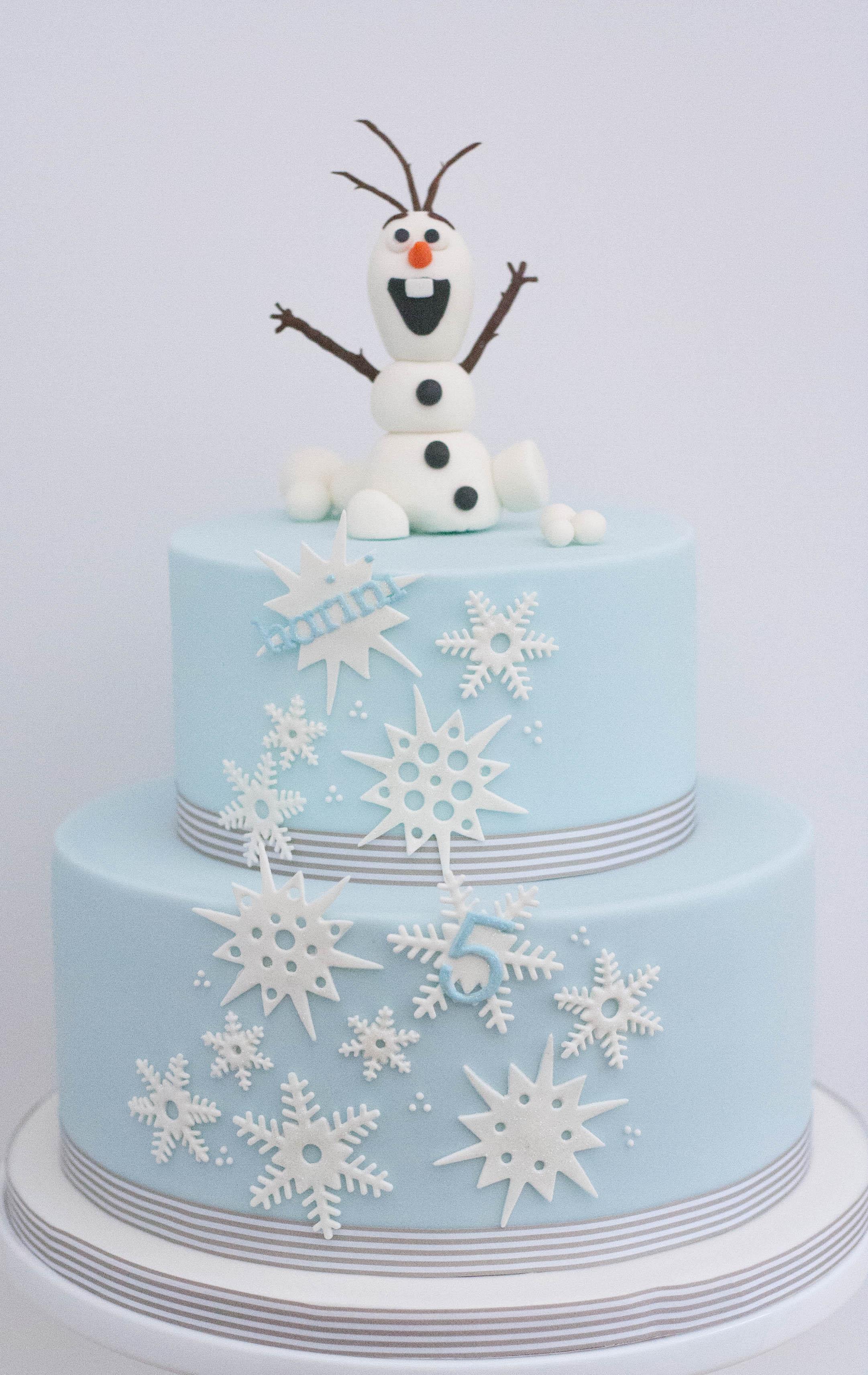 Frozen snowman vegan