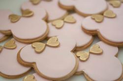minnie mouse cookies vegan