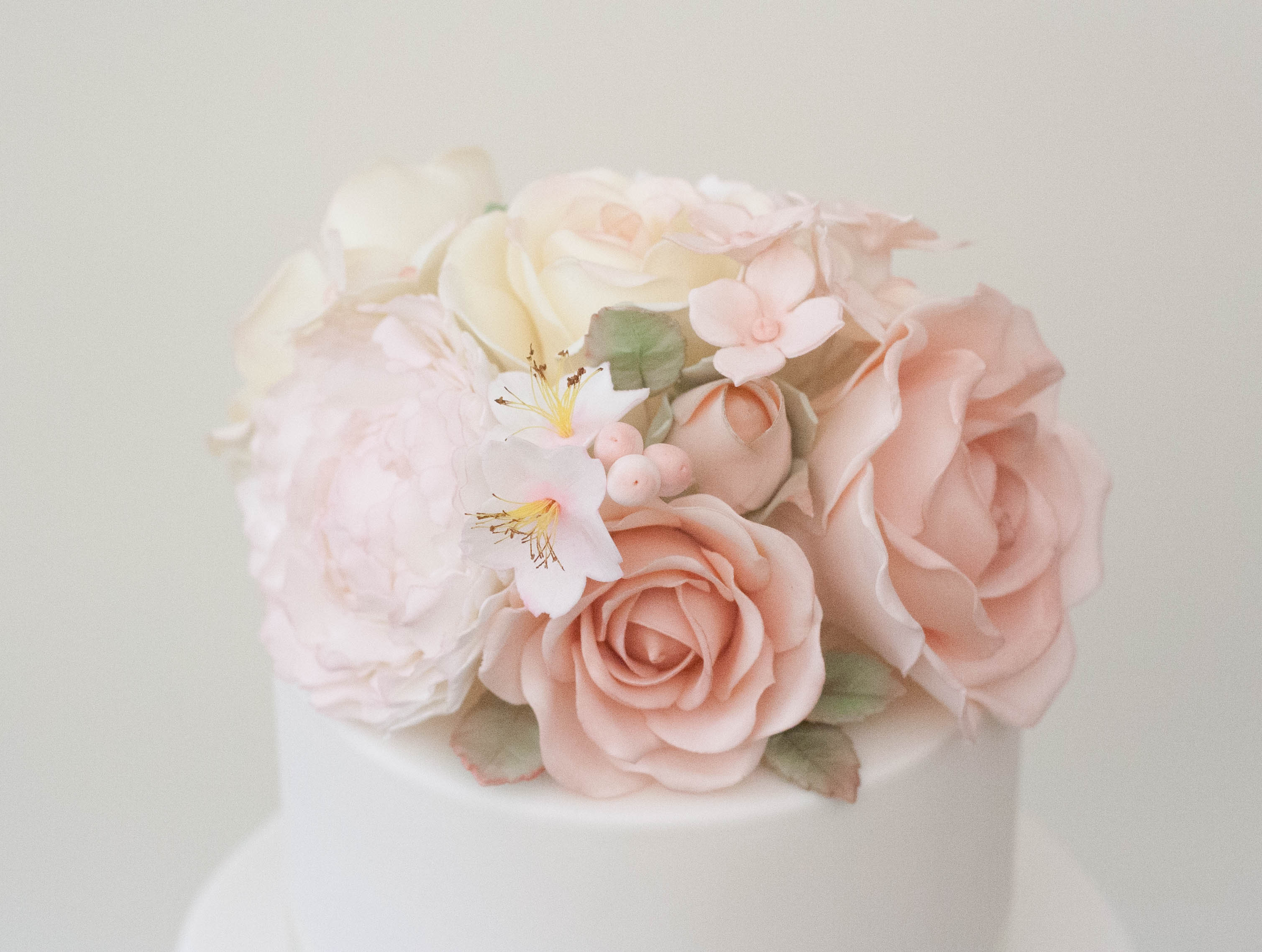 sugar flowers topper