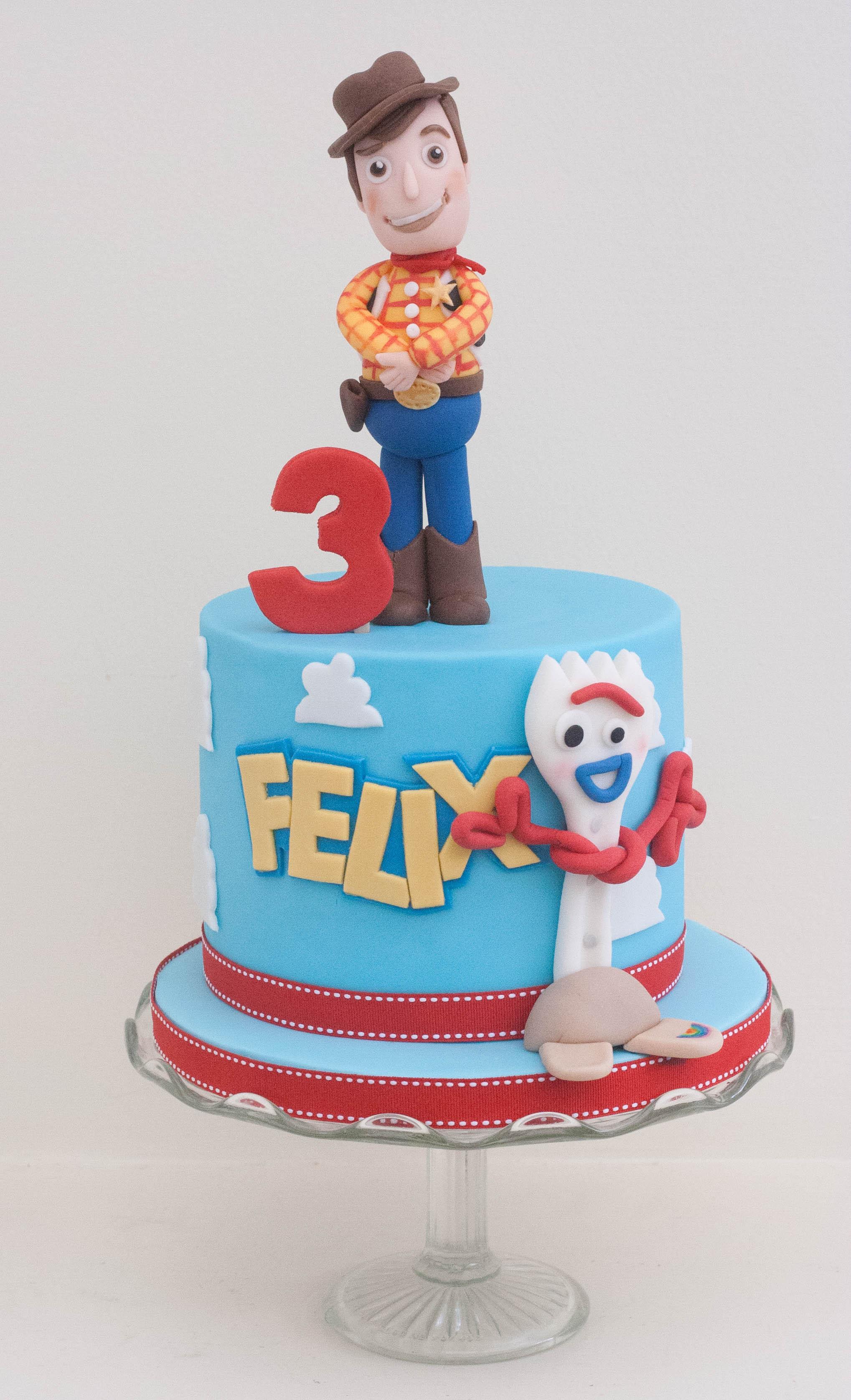 Toy Story vegan cake