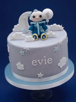 Moon Baby cake