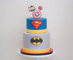 superhero gf vegan cake
