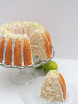 lime coconut bundt vegan