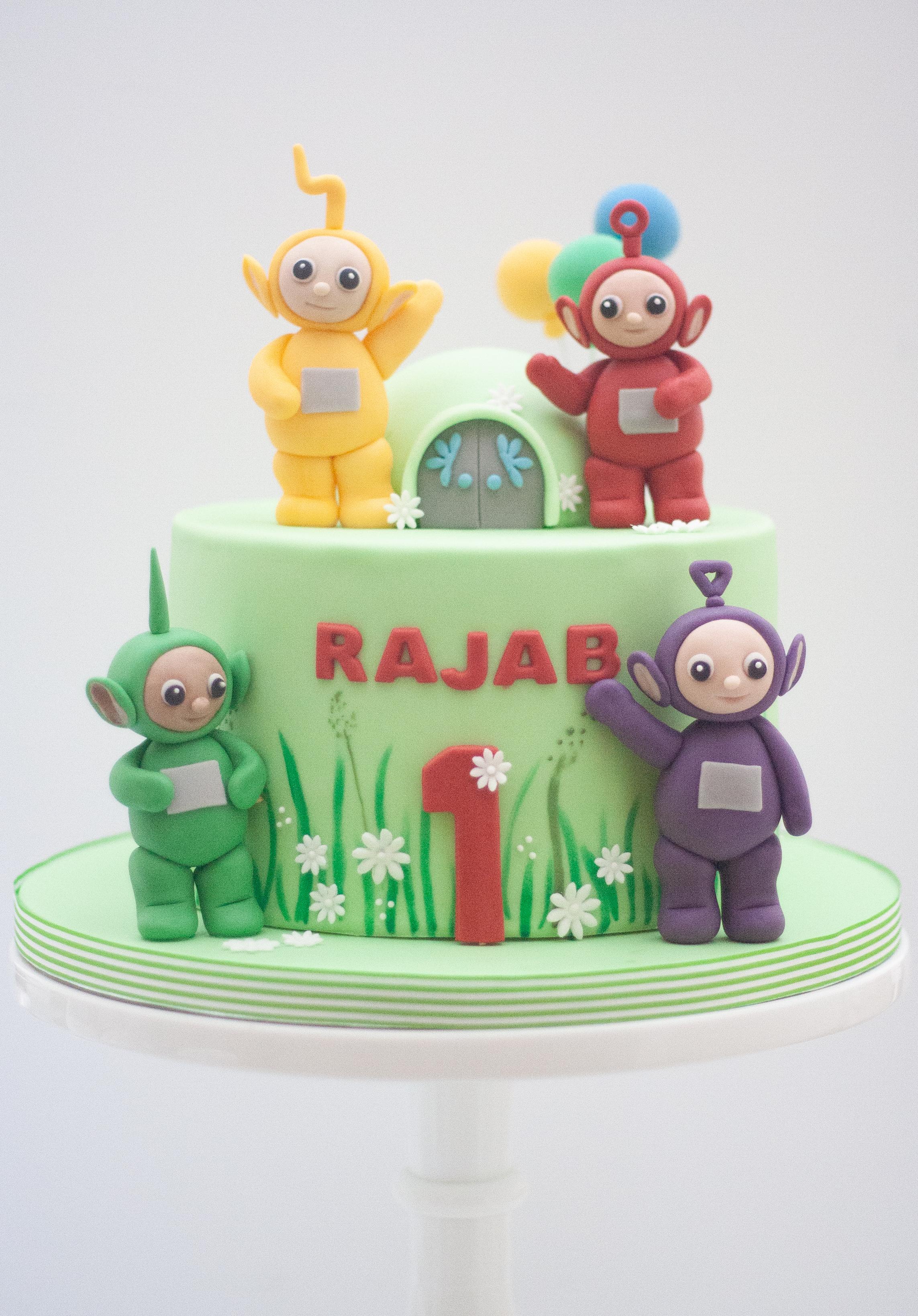 Teletubbies cake-2