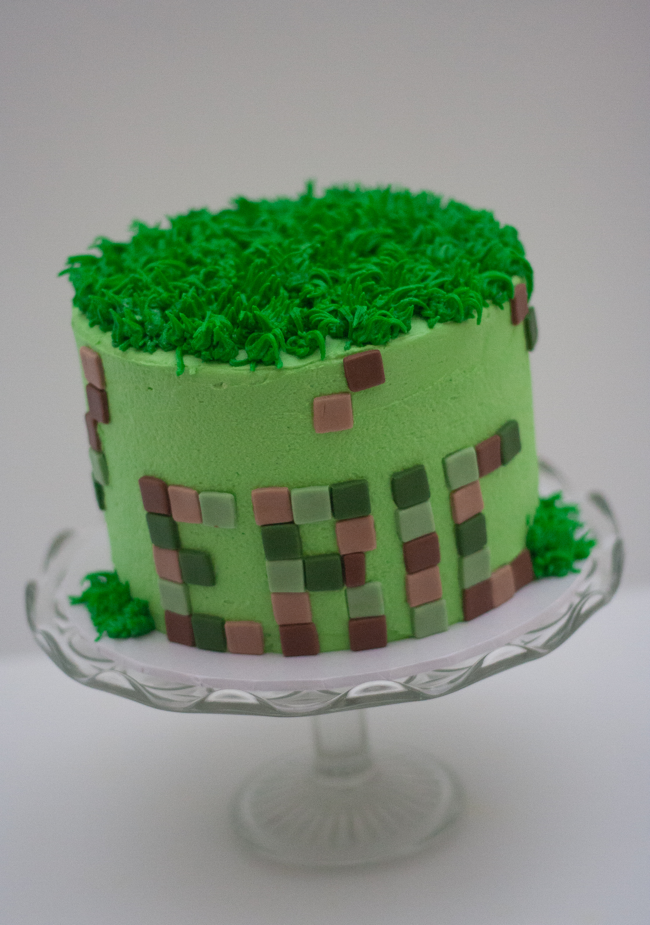 Minecraft frosted cake