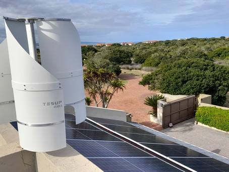 Встановлений вітрогенератор TESUP Atlas2.0