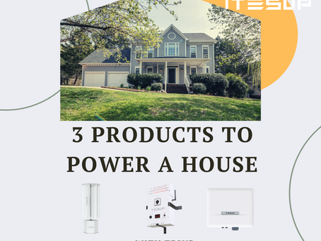3 products to generate electricity for home