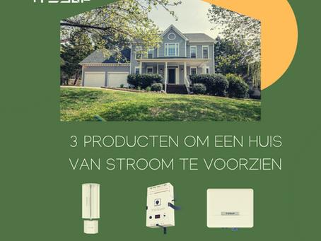 3 Producten voor het Opladen van Elektrische Voertuigen en het Opwek
