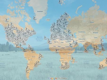 Aerogeneradores TESUP en todo el mundo