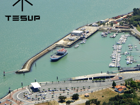 TESUP wind turbine is going to Le Verdon Sur Mer!