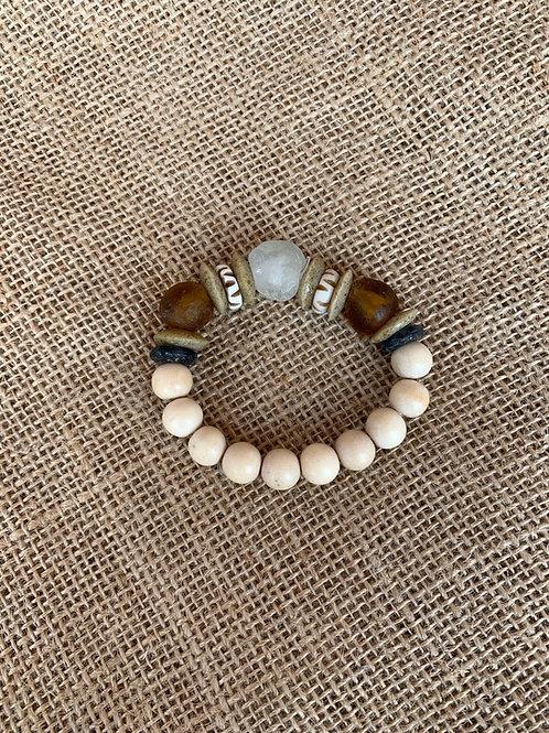 Stack Bracelet (White Ocean)
