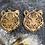 Thumbnail: Gold Tiger Earrings