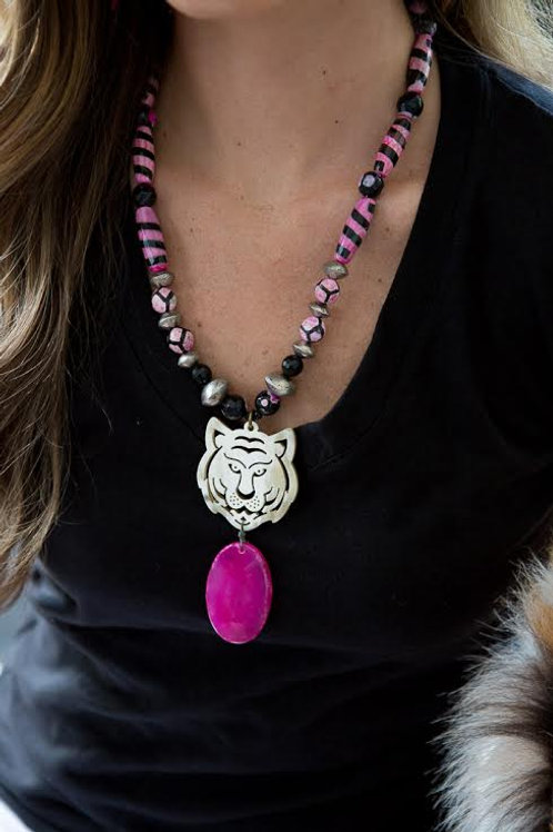 """Pretty in Pink"" Ladies Clinic Necklace"