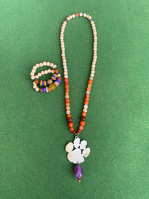 Eye of the Tiger (PAW) Necklace