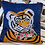 Thumbnail: Embroidered Tiger Pillow