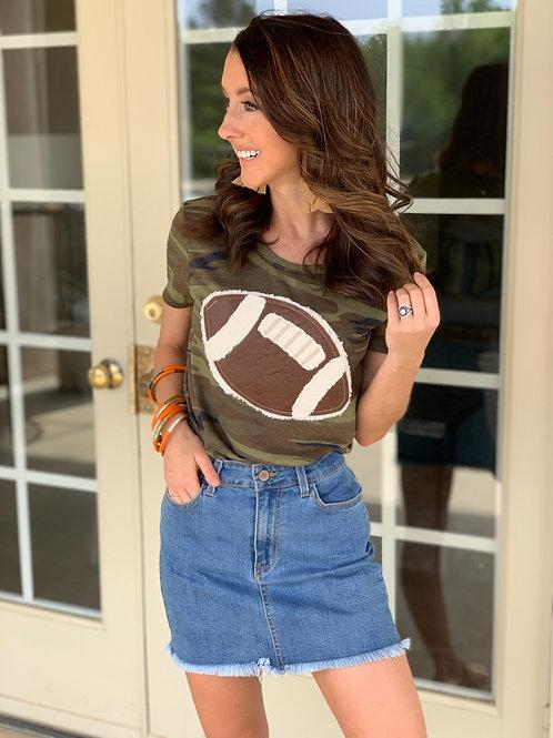 Football Kinda Girl Tee