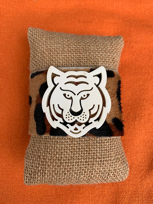 Cheetah Tiger Hide Cuff