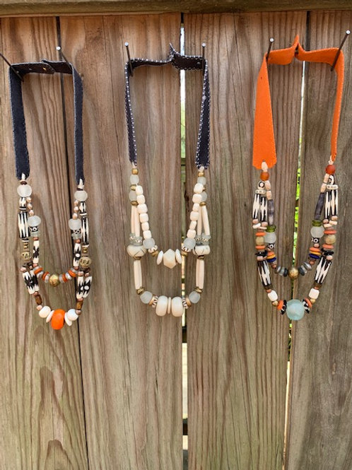 """Lead Me To The Water"" Tribal Necklace"