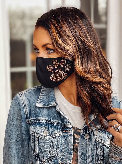 Tiger PAW Face Mask