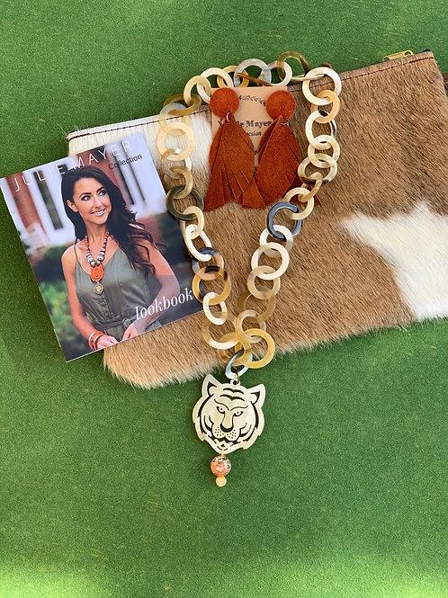 All Link Tiger Necklace