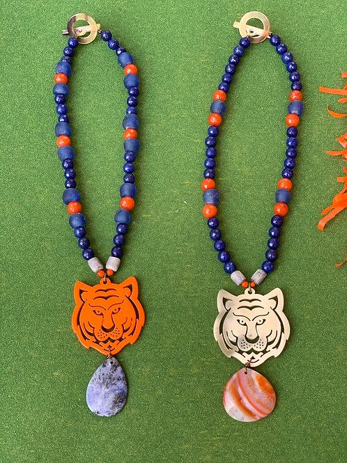 "The ""Aubie"" Tiger Necklace"