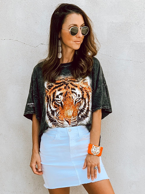 Lets Get Cozy Tiger Tee