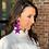 Thumbnail: Designer Suede Earrings (STARS)