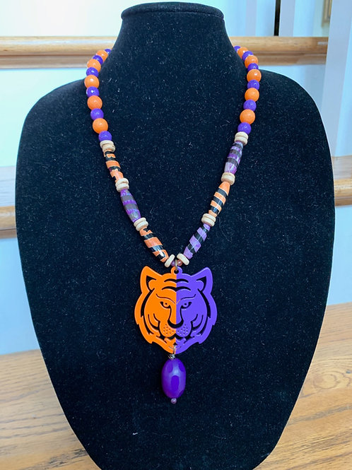 Gameday Girl Tiger Necklace