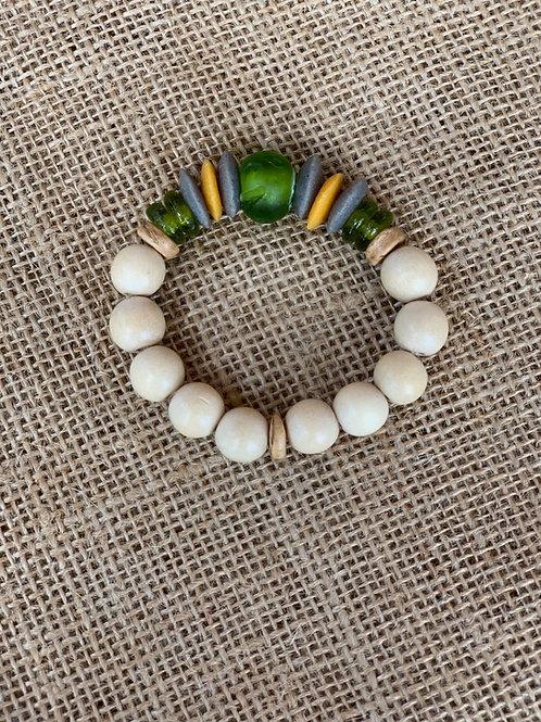 Stack Bracelet (Green Sea)