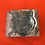 Thumbnail: Leather Embossed Snake Print Cuff with Tiger