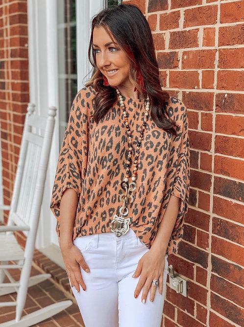 Cozy & Cute Cheetah Sweater