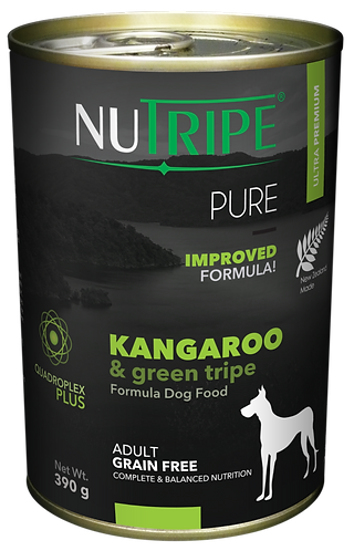 PURE KANGAROO & GREEN TRIPE FORMULA DOG FOOD