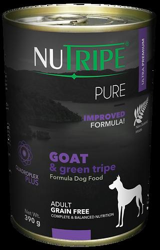 PURE GOAT & GREEN TRIPE FORMULA DOG FOOD