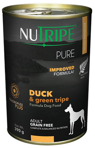 PURE DUCK & GREEN TRIPE FORMULA DOG FOOD