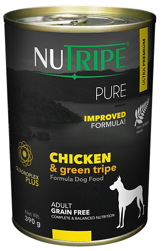PURE CHICKEN & GREEN TRIPE FORMULA DOG FOOD