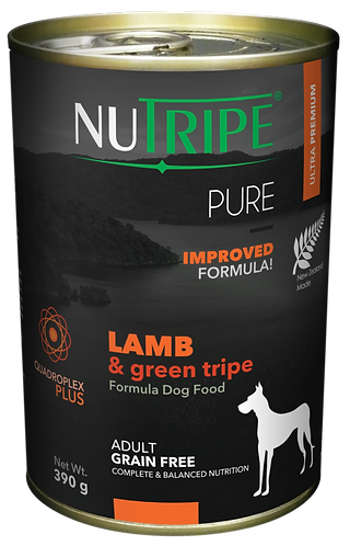 PURE LAMB & GREEN TRIPE FORMULA DOG FOOD