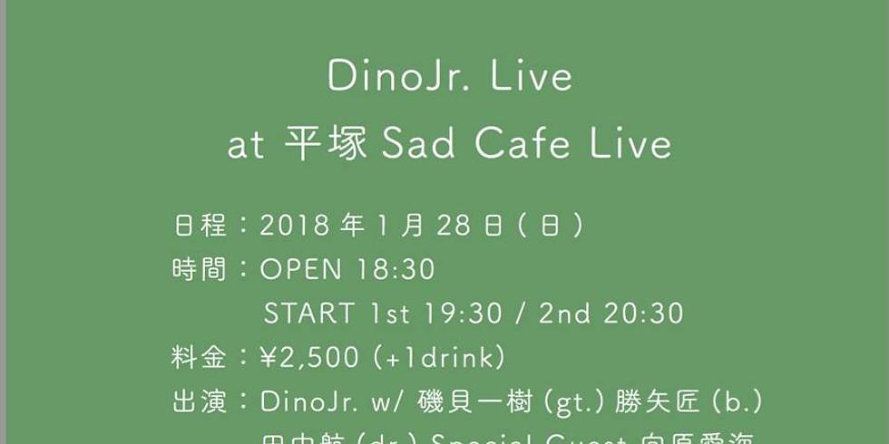 【ゲスト出演】DinoJr. Live at 平塚 Sad Cafe