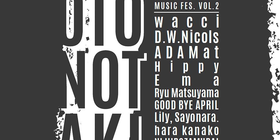 ASUKAYAMA MUSIC FES 音の滝【東京】