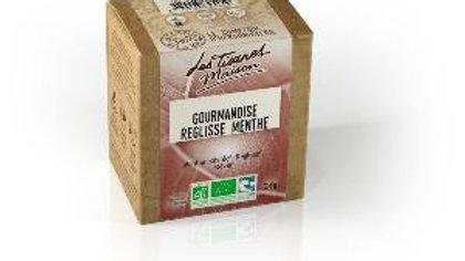 Gourmandise- Réglisse Menthe-Le Comptoir Herboristerie -20dosettes-